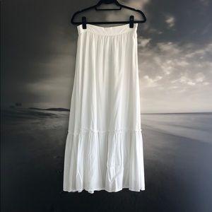 Splendid white long skirt Size XS